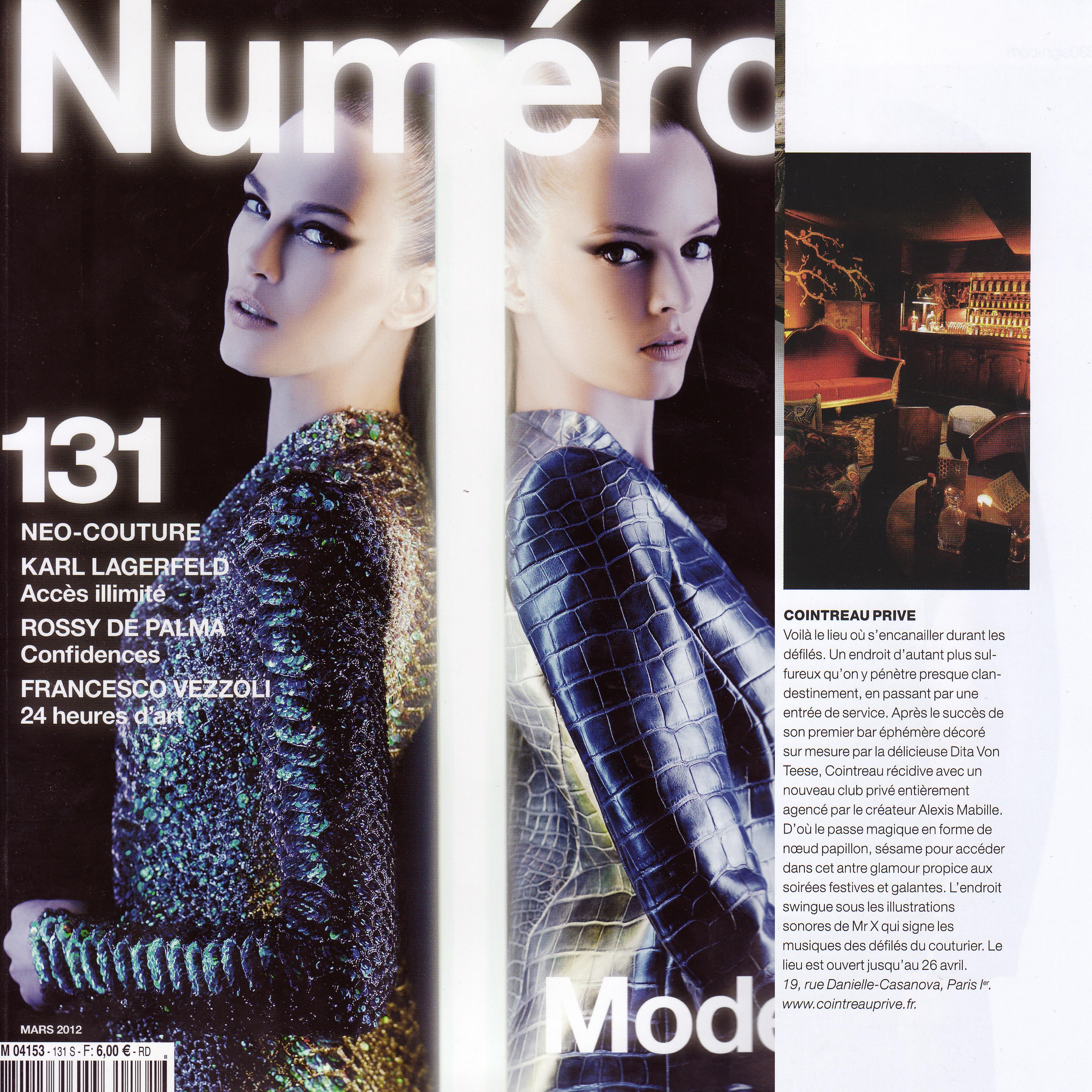 Numéro Mars 2012