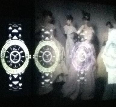 Presentation Presse Dior Montres